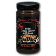 House of Tsang Sauce Sweet Ginger and Sesame, 14 Ounce -- 6 per case
