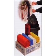 High Density Institutional Trash Can Liner - Natural Film, For 7 Gallon Can, 22 X 20 Inch, 50 Roll Per Bag -- 2000 Per Case.
