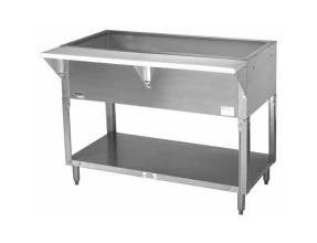 Advance Tabco Triumph NSF Hot Food Cold Pan Table - 2 Well , 31.81 x 30.63 x 34.13 inch -- 1 each.