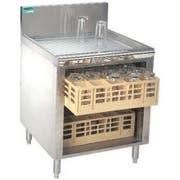 Advance Tabco Prestige 24 inch Series Closed Glass Rack Storage Cabinet -- 1 each.