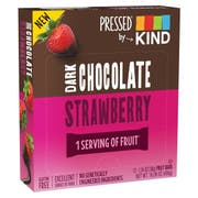 Kind Snacks Pressed Dark Chocolate Strawberry Bar, 1.34 Ounce -- 72 per case.
