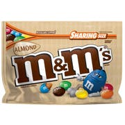 M and Ms Almond Chocolate Candy, 9.3 Ounce -- 8 per case.