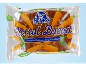 Ne-Mos Carrot Cake Bread, 4 Ounce -- 12 per case.