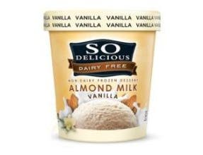 So Delicious Vanilla Dairy Free Almond Milk, 1 Pint -- 8 per case.