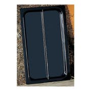 Hunter Green Bon Chef Sandstone Full Size Divided Display Food Pan, 21 x 13 x 1 1/2 inch -- 1 each.