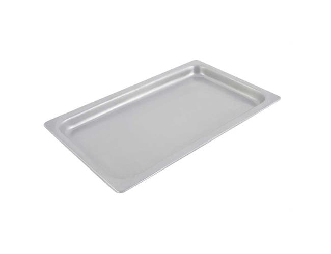 Ivory Speckled Bon Chef Sandstone Full Size Shallow Food Pan, 21 x 13 x 1 1/2 inch -- 1 each.