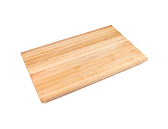 John Boos Varnique Finish Maple Straight Riser, 84 x 4 x 0.75 inch -- 1 each.