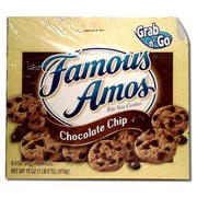 Kelloggs Famous Amos Chocolate Chip Cookies, 3 Ounce -- 36 per case.
