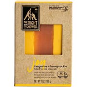 The Right To Shower Joy Yellow Tangerine and Honeysuckle Bar Soap, 7 Ounce -- 36 per case