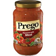 Prego Flavoured With Meat Pasta Sauce, 14 Ounce -- 12 Per Case.