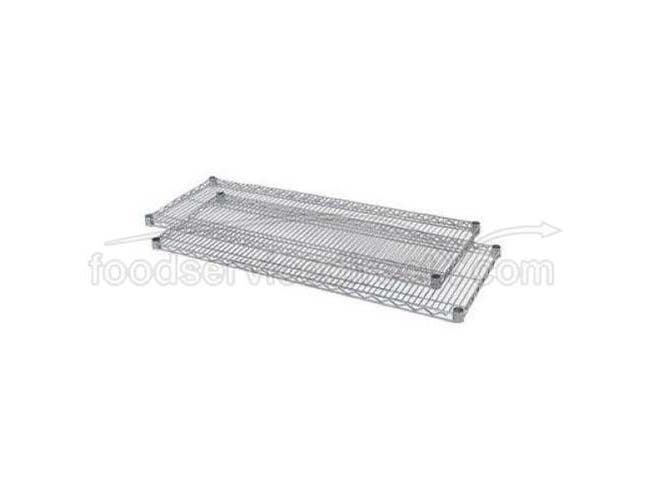 Shelf Sets for Wesco Chrome-Plated Wire Shelving -- 1 set.
