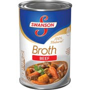 Swanson Beef Broth - 14.5 oz. can, 24 per case