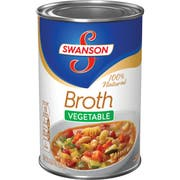 Swanson Vegetable Broth - 14 oz. can, 24 per case