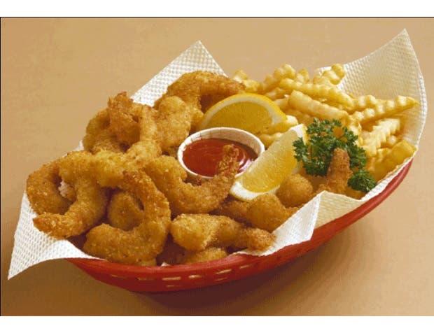 Tampa Maid South Beach Imitation Breaded Shrimp, 7 Ounce -- 12 per case.