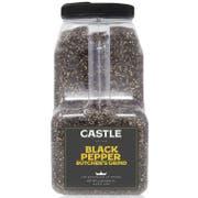 Castle Foods Cracked Butcher Grind Black Pepper, 5 Pound -- 3 per case