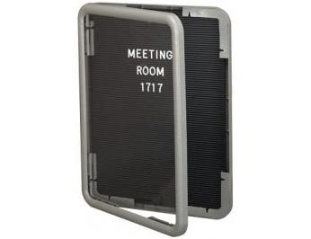 Frame - White IMAGE Enclosed Letterboard, in a variety colors. Size: 24 inch X 36 inch -- 1 each.