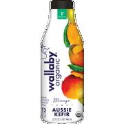 Wallaby Organic Low Fat Mango Kefir, 32 Fluid Ounce -- 6 per case.
