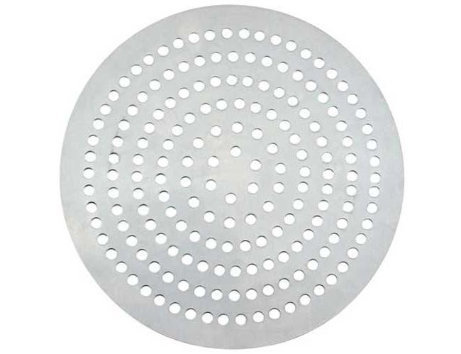 Winco Aluminum 370 Holes Super Perforated Pizza Disk, 17 inch Diameter -- 12 per case.