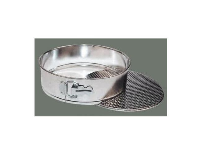 Winco Spring Form Cake Pan with Loose Bottom, 9.5 inch -- 1 each.