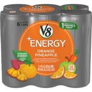 V8 Fusion Orange Pineapple Energy Beverage, 48 Fluid Ounce -- 4 per case.